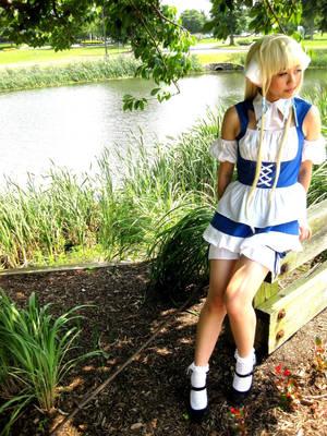 Chii (Chobits cosplay)