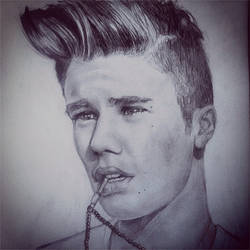 Justin Bieber by XenaGriffin