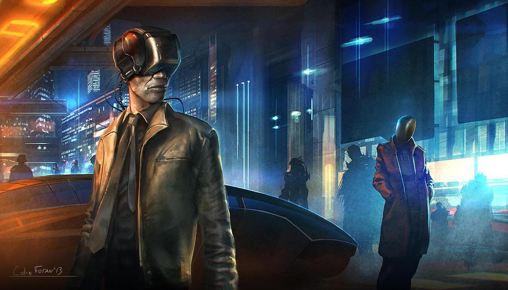 Cyberpunk 20somethin by nathantwist