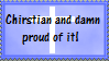 Proud Christian by Musicalcupcake93