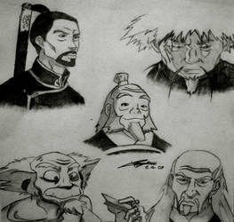 The Old Masters by wolverine95