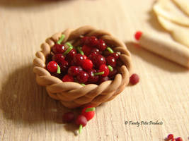 Basket of Cherries by birdielover