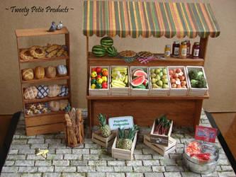 Farmer's Market (1:12 Scale) by birdielover