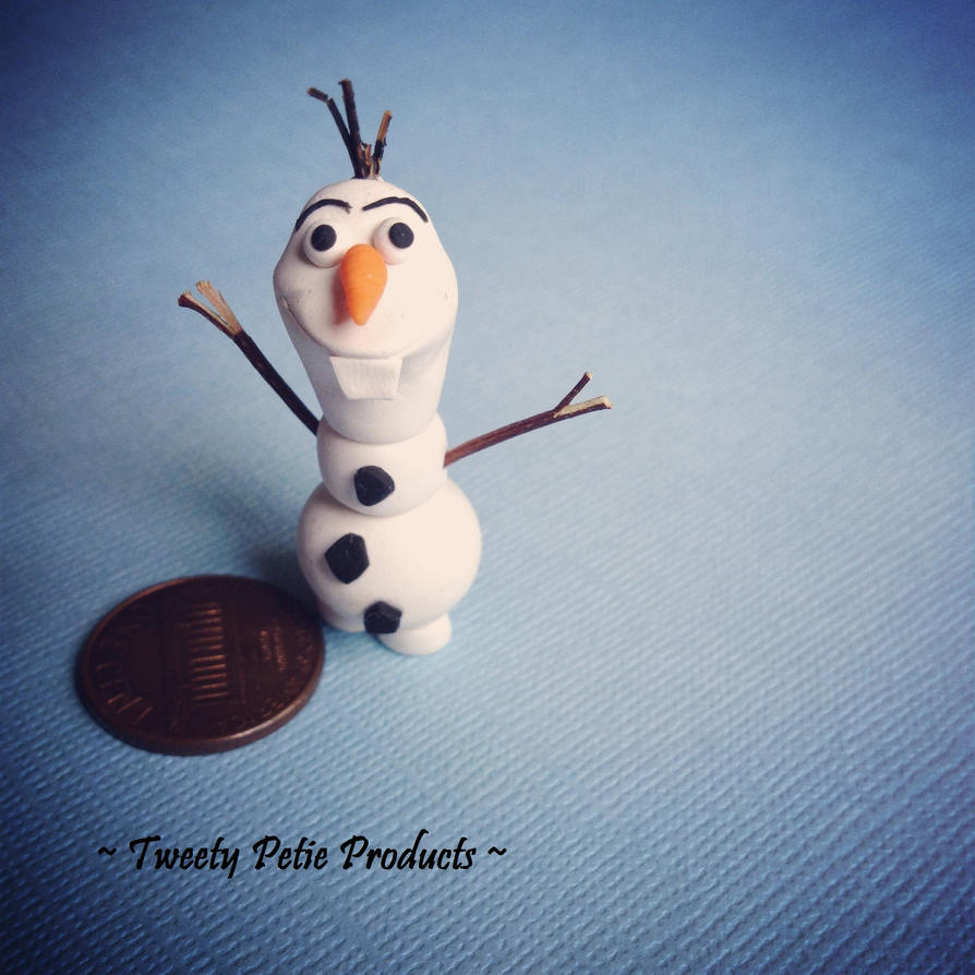 Baby Olaf by birdielover