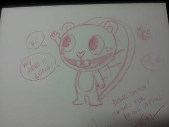 How to Draw Toothy...the deleted scene by RealHappyTreeFriends