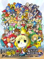 SUPER SMASH BROS for 3DS! by dlrowdog