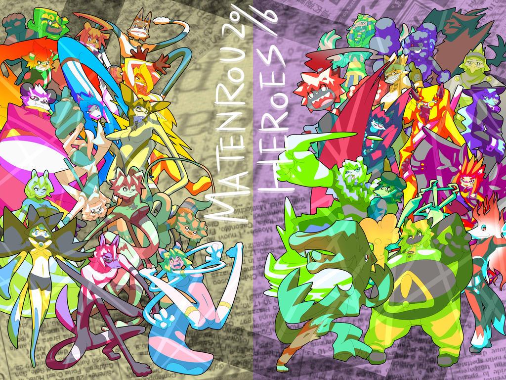 MATENROU HEROES 2016 by dlrowdog