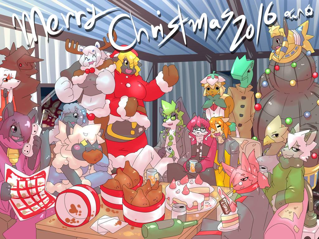 Merry Christmas 2016 03 by dlrowdog