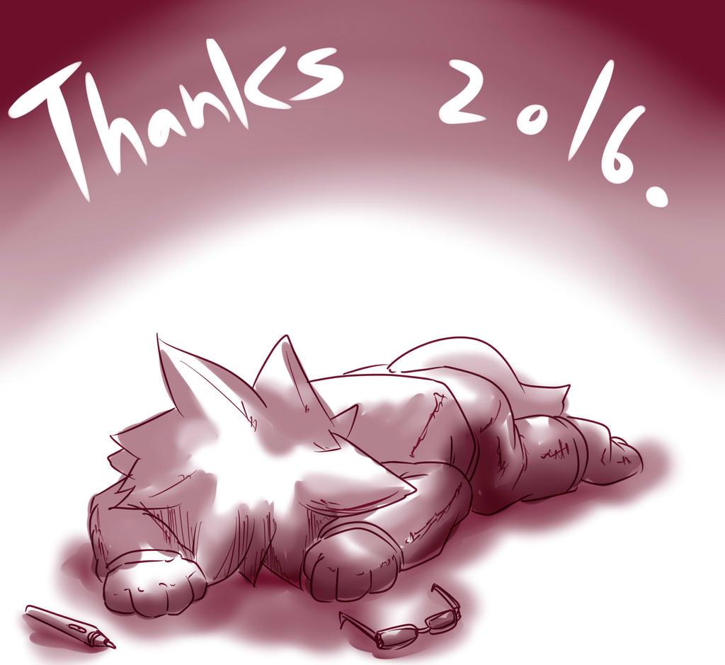 thanks 2016. by dlrowdog