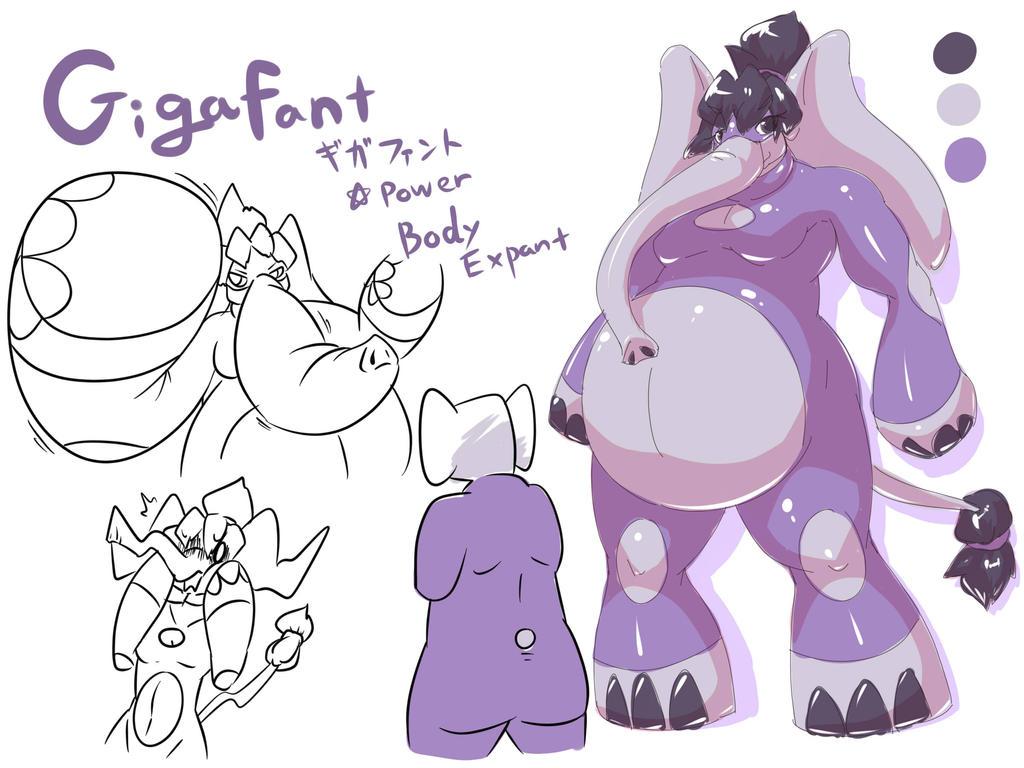[NMH sheet] Gigafant by dlrowdog