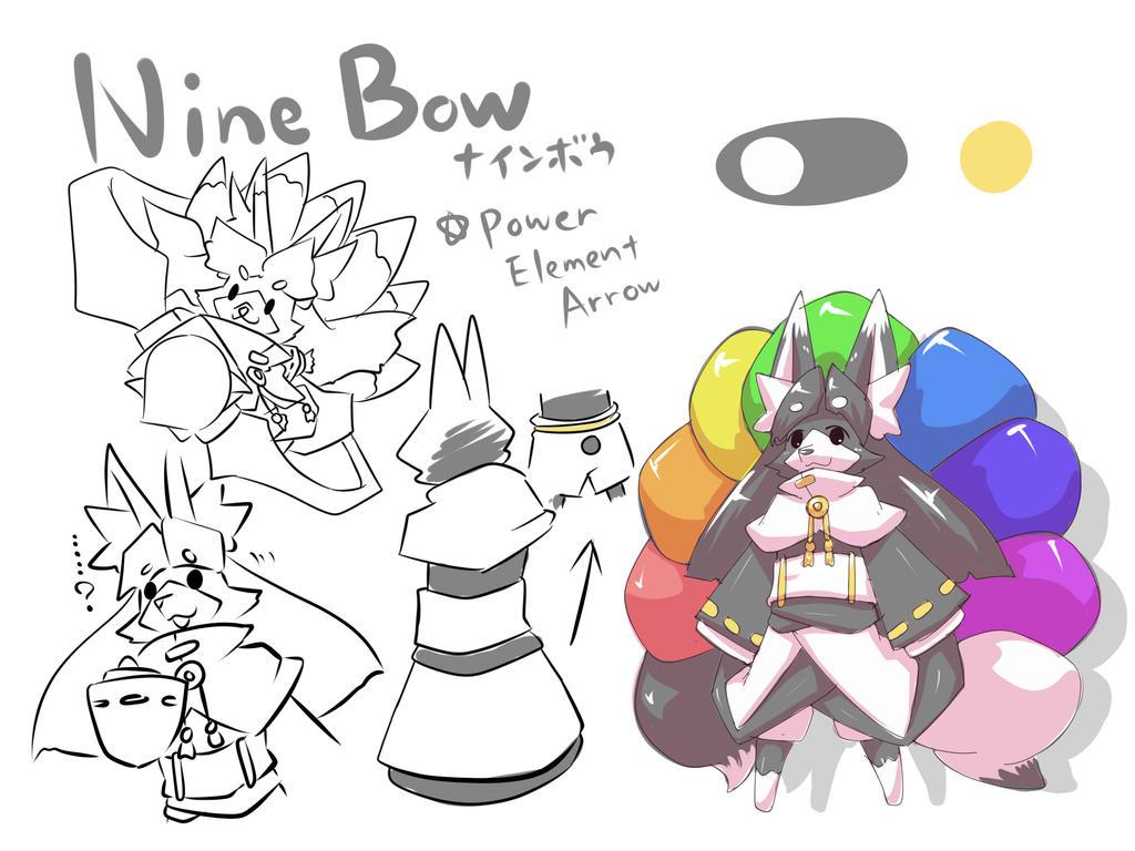 [NMH sheet] Nine Bow by dlrowdog