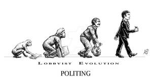 Lobbyist evolution