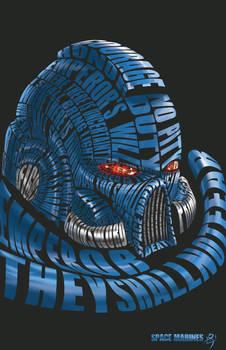 space marine type helmet