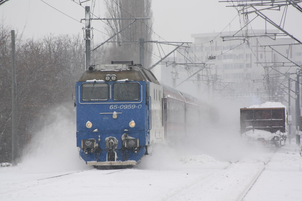Baneasa Winter 2012 by metrouusor