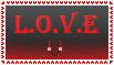 L.O.V.E. stamp