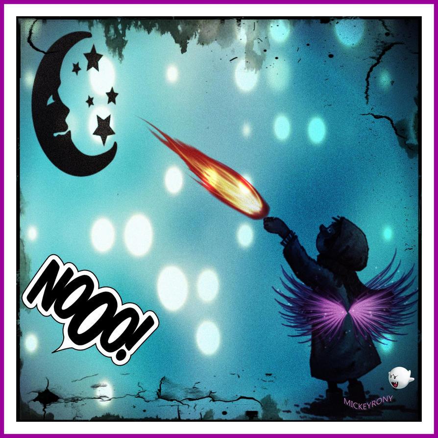 Nooo Don't kill the Moon  MICKEYRONY by mickeyrony