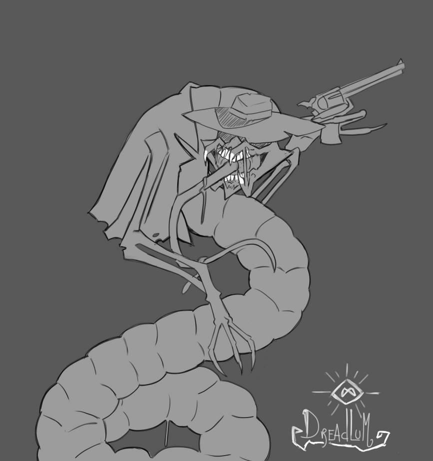 Drawfee drawalong: making cute things horrifying by Dreadlum