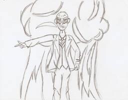 Fiery Joker Fanart by Ajustice90