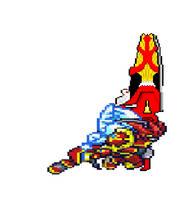 Gallantmon's new weapon by Ajustice90