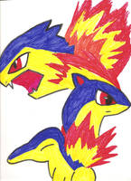 Cyndaquil's Flaming Growth by Ajustice90