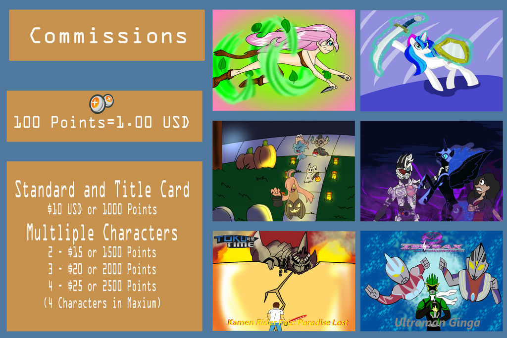 Commission Info (Updated)