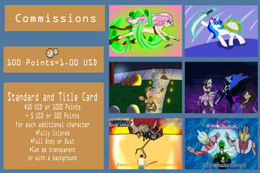 Commission Info (Updated) by Ajustice90