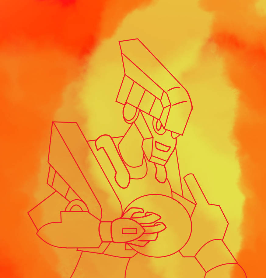 Inktober 18 Blastman by Ajustice90