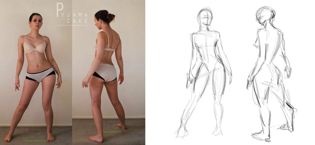 Figure Drawing Challenge 1 by Amphithea