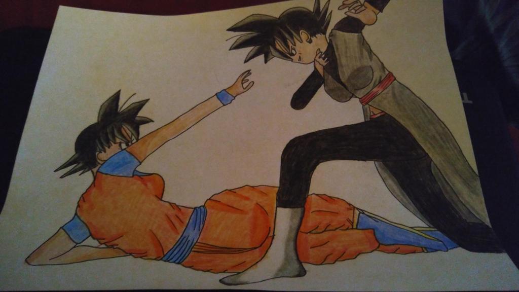 Female Goku vs Female Black Goku by KrisB87 on DeviantArt
