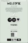 Sad ghosts page code- f2u!