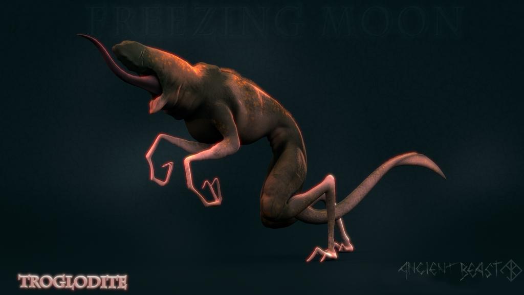 Troglodite Ancient Beast by SeekerofAwe
