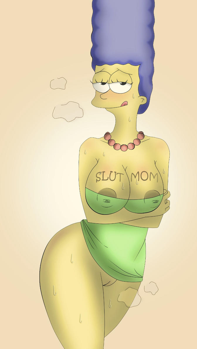 Marge Simpson (Slut mom) by Samberg