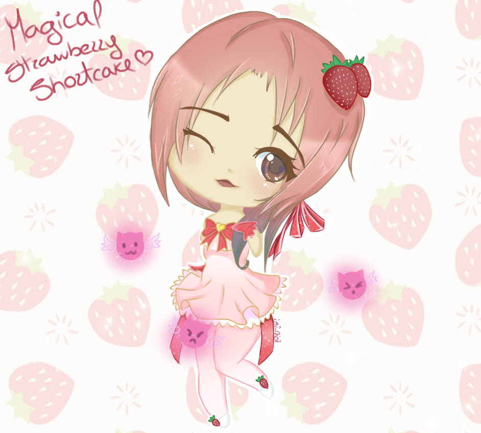 Magical Strawberry Shortcake! by isi-chisi