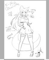 K-POP Charlotte sneaky by isi-chisi