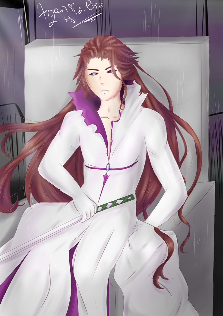 Sosuke Aizen by isi-chisi