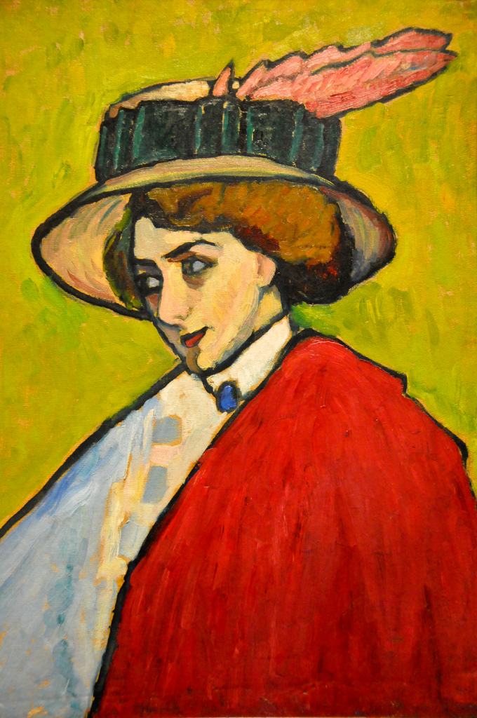 Gabriele Mnter - Portrait of a young woman in a  by HydromelKing