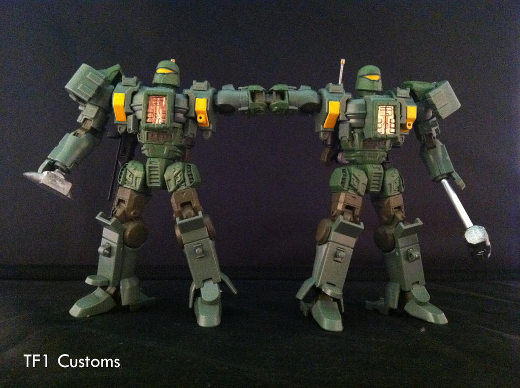 Custom Rack N Ruin By Tf1 Transformers Art