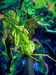 Praying Mantis Monster