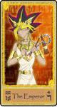 The Emperor - Egyptian Tarot