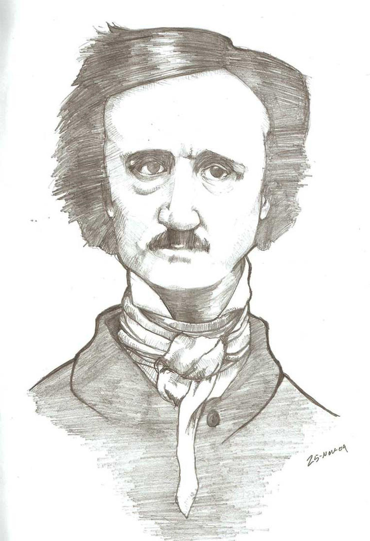 edgar allan poe coloring pages - photo#34