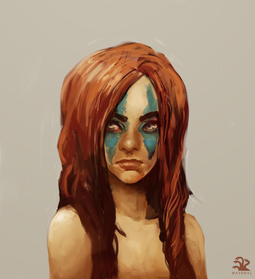 Redhead by landuo