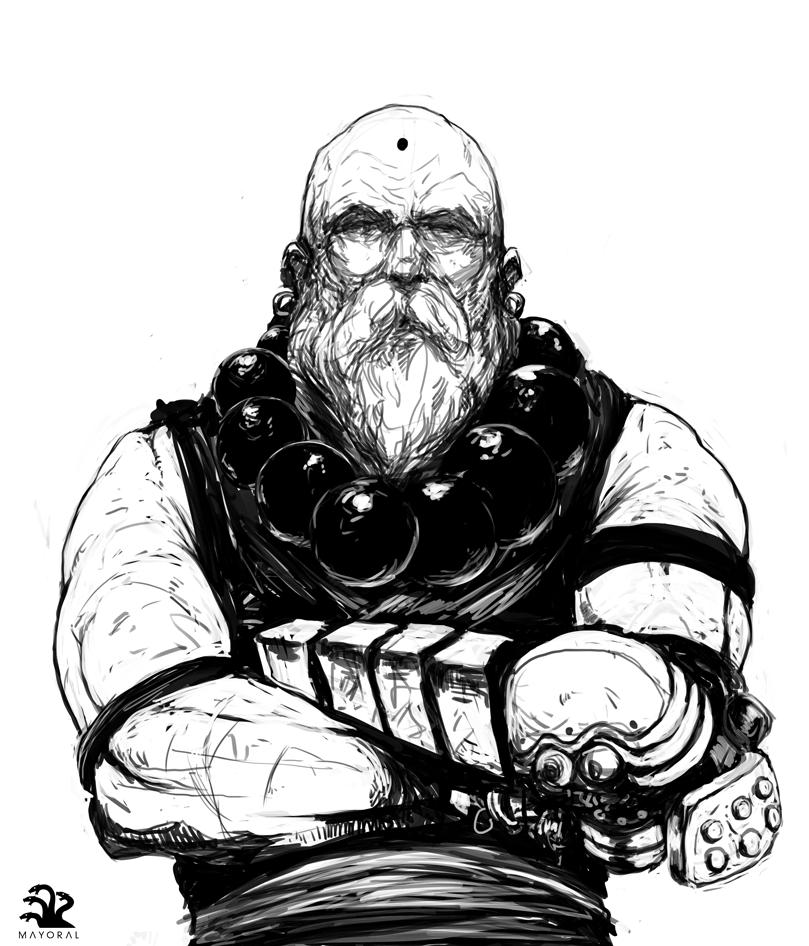 Monk by landuo