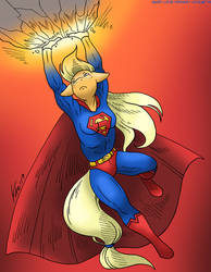 COM: Mare Of Steel by MustLoveFrogs