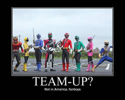 Power Rangers AND Kamen Rider? by maybetoby