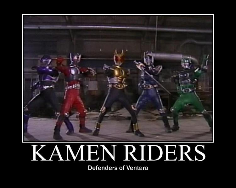 Kamen Riders by maybetoby