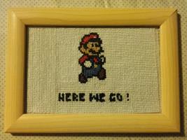 Mario Cross-stitch