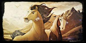 Spirit Stallion Of The Cimmaron 2 w/ Effects