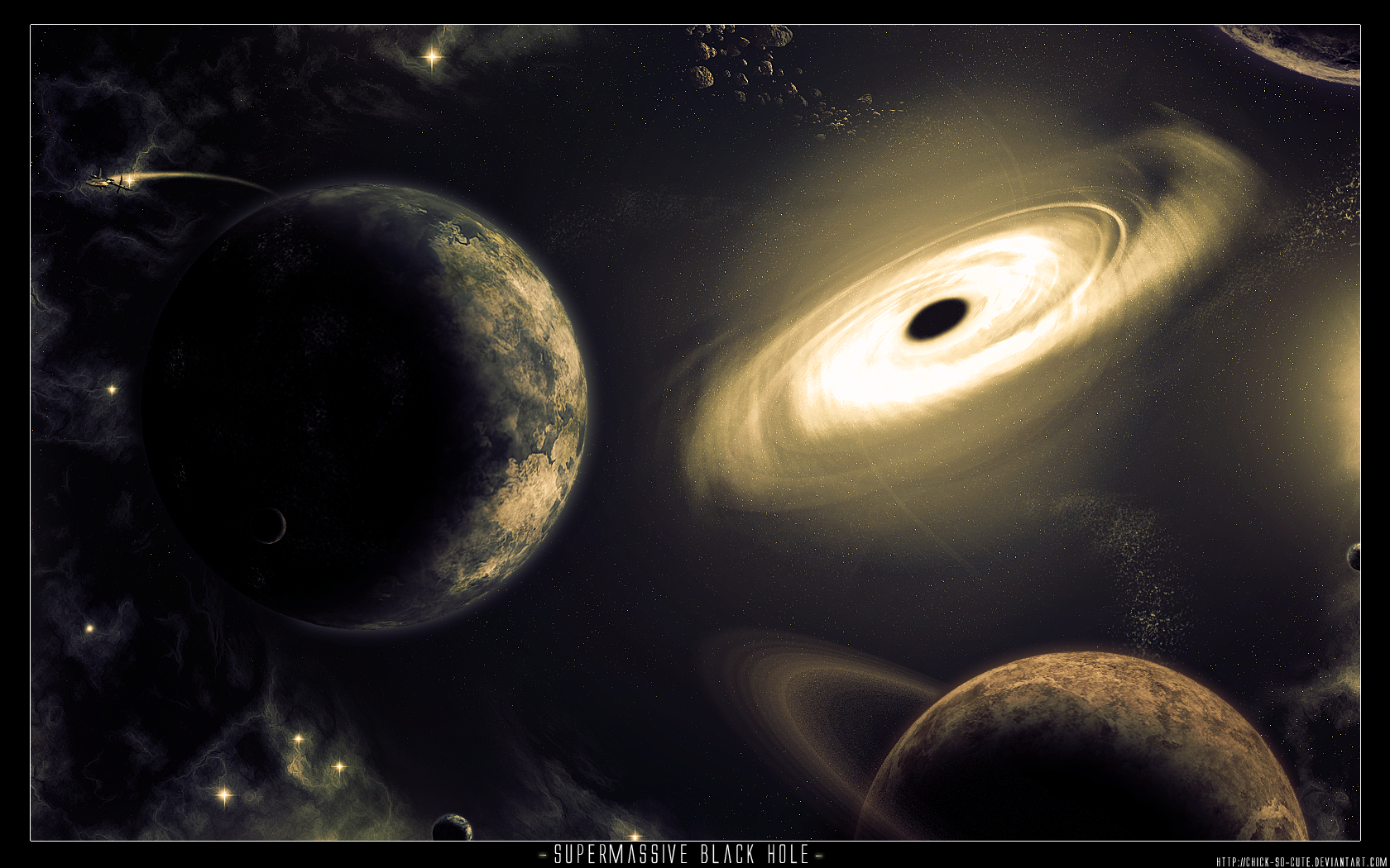 Black Hole - Space Art by Chick-so-cute on DeviantArt