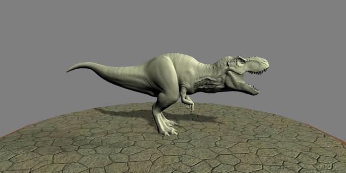 Tyrannosaurus Rex by Pamperedlabyrinth24
