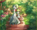 Let's go in the Garden